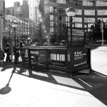 """Subway Entrance Columbus Circle"" by LocalStockPhoto"