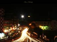 Calicut at night