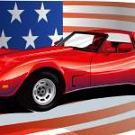 """""""Corvette USA"""" by Brian_Gibbs"""