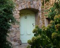 Pale Green Door
