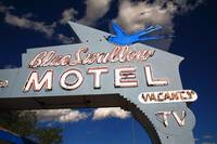 Route 66 - Blue Swallow Motel 2010