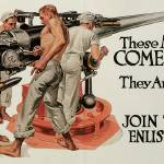 """""""Francis Xavier Leyendecker Enlist In The Navy"""" by oldies"""