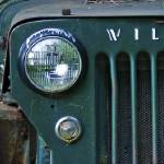 """Green Jeep Left 12x36 print"" by danmcgeorge"