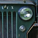"""""""Green Jeep Right 12x36 print"""" by danmcgeorge"""