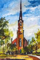 St. Matthew's Lutheran Church, Charleston, SC Oil