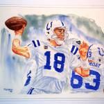 """""""Peyton Manning 1"""" by Gbrooks"""