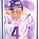 """Brett Favre ""The Warrior"""" by Gbrooks"