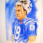 """""""Peyton Manning 2"""" by Gbrooks"""