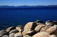 Lake Tahoe Rocky Shore 2008 #1