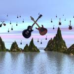 """Raining Guitars"" by williamballester"