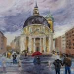 """""""Piazza del Popolo"""" by BarbaraBusenbark"""