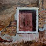 """Murano Window with Brick"" by BarbaraBusenbark"