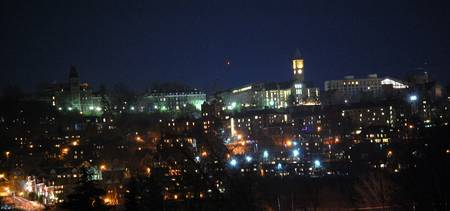 Cornell Night Panorama