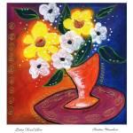 """Bistro Floral Glow"" by wasankari"
