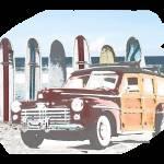 """""""Vintage Woodie"""" by 12Steps"""