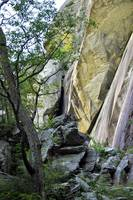 Rock Formation at Chimney Rock, NC