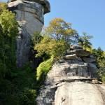 """Rock Climbing at Chimney Rock"" by smayer"