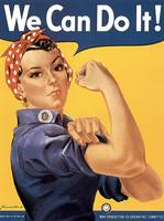 Howard Miller We Can Do It Rosie the Riveter