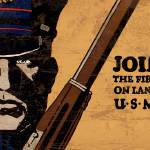 Join Me Land Sea US Marines 1 by Leo KL