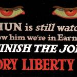 The Hun Is Watching Victory Liberty Loan by Leo KL