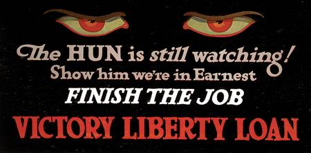 The Hun Is Watching Victory Liberty Loan