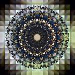 """Gray Squares Mandala"" by KHSPhotography"