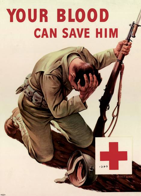 Red Cross Your Blood Can Save Him