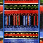 """Blue and Red Traditional Bulgarian Rug"" by ValentinaKross"