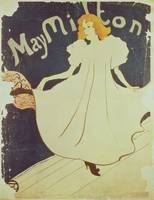 May Milton, France, 1895 by Toulouse-Lautrec