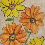 """Orange and Yellow Flowers"" by jmeraz"
