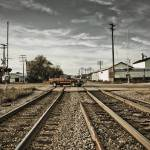 """Train Tracks"" by chrislakephoto"