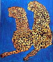 Two Leopard's- Africa & Asia