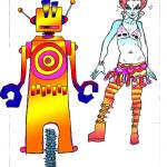 """""""A Girl & Her Robot"""" by Borax"""