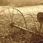 """Antique Hay Rake"" by earthtoholly"
