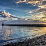 """Spring Point Ledge Light v.5"" by BeautifullyScene"