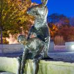 """Lincoln Statue - Lockport Illinois"" by ZachPrimozic"