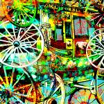 """Wagon Wheels"" by dennisroysmigel"