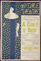 Poster advertising A Comedy of Sighs by Aubrey Bea