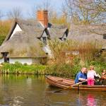 """Rowing Past Thatched Cottage"" by michaelbond"