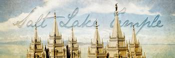 Salt Lake Temple (Lake View)