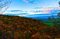 Fall Dawn on the Gatineau Escarpment