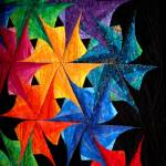 """Quilted Pinwheels"" by sharonblanchard"
