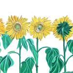 """Sunflowers"" by catwezle"