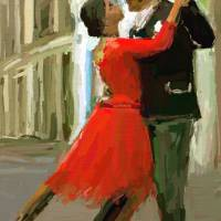 Argentina Tango Art Prints & Posters by james shepherd