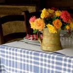 """Restaurant Table in Biot"" by lainiewrightson"