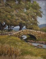English stone bridge