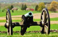 Cannon in Springtime