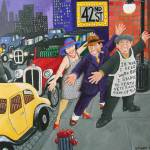 """Dancing in the street."" by kevin-smith-art"