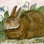 """Rabbit 2"" by revelation_art_studio"