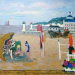 """""""Deauville - Les cures marines"""" by dilley"""